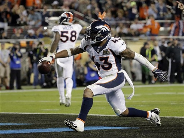 Broncos beat Panthers 24-10 in Super Bowl win