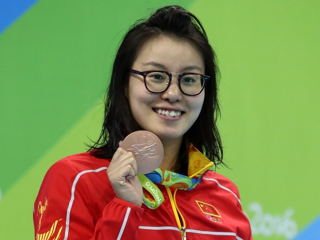 Olympic swimmer talks about having her period during competition