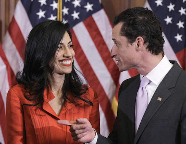 Huma Abedin to Separate from Husband Anthony Weiner after Sexting Revelation