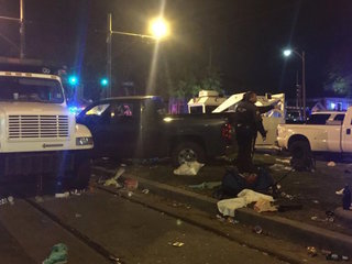 Suspect in custody in New Orleans parade crash