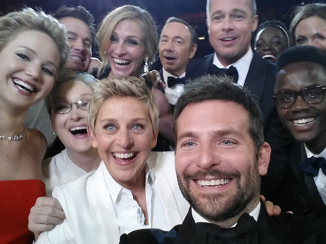 Ellen, Bradley Cooper Take on