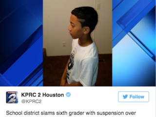 6th grader told to fix haircut or be suspended