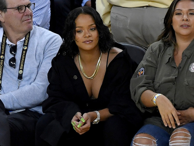 Rihanna Was the Real Winner of Game 1 of the NBA Finals
