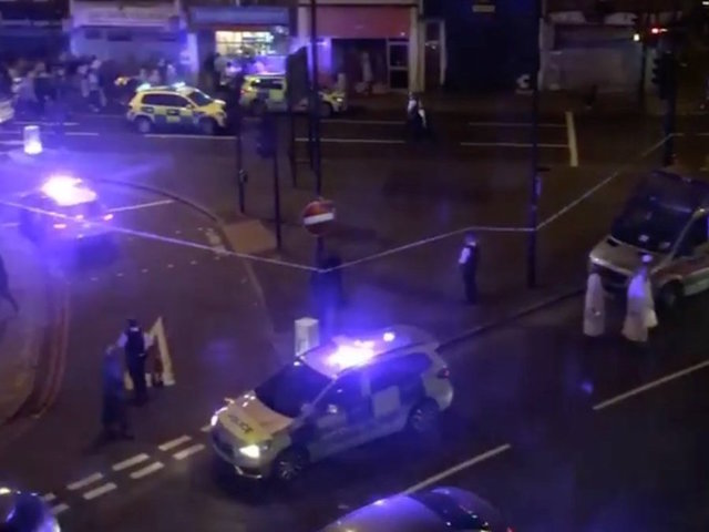One dead, 10 injured after driver plows into crowd outside London mosque