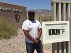 Tourists hit Death Valley for 130-degree heat