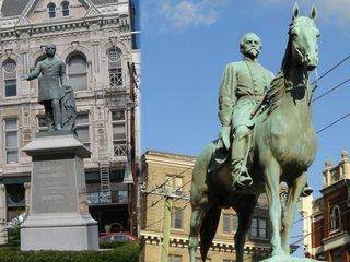 Texas man accused of bombing Confederate statue