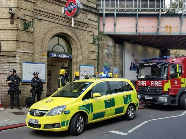 London Tube attack: CCTV emerges as two men arrested