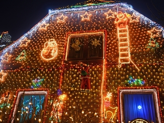 How much are your Christmas lights costing you?