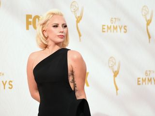 Lady Gaga documents evacuation from wildfires