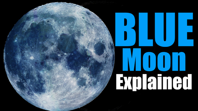 Second Blue Moon of 2018 Will Happen Ahead of Easter
