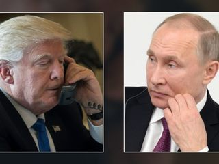 President Trump calls Putin