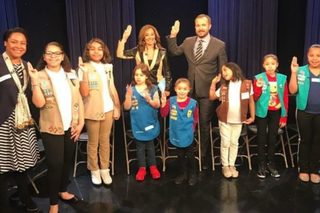 Homeless girls in NYC have a Girl Scout troop