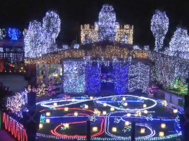 rock n roll christmas light display in new zealand puts everyone else to shame tmj4 milwaukee wi