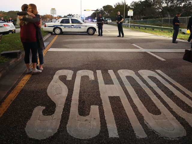 Florida school shooting: President Trump calls for healing, peace
