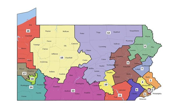 Court releases new Pennsylvania congressional maps, could help