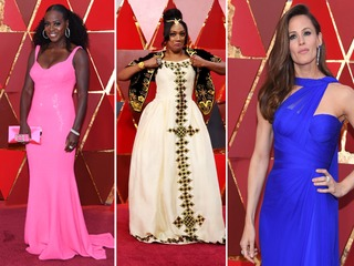 Celebs walk the red carpet at the 2018 Oscars