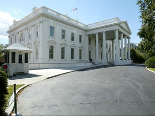 Sinkhole opens up in White House lawn