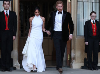 What Markle wore to the 2nd royal wedding party