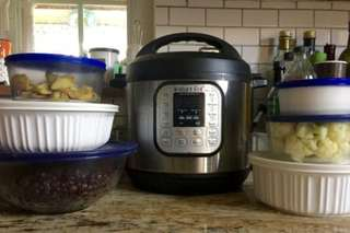 Meal prepping with an Instant Pot