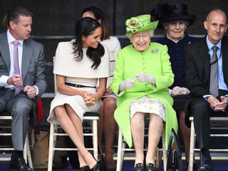 Meghan Markle joins Queen of England for outing